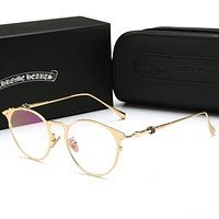 """Chrome Hearts"" Newest Popular Women Elegant Summer Sun Shades Eyeglasses Glasses Sunglasses"