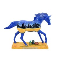Trail of Painted Ponies Gold, Frankincense and Myrrh Pony Figurine 6.3-Inch