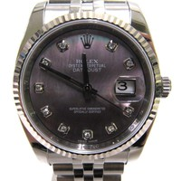 ROLEX Datejust Watch 116234 NG Black series Stainless steel (SS)
