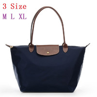 2016 France Popular Top-handle Bags Designer Handbags High Quality Nylon Foldable Women Totes bolsos sac a main femme de marque