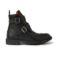 Givenchy - Double-Strap Leather Boots | MR PORTER
