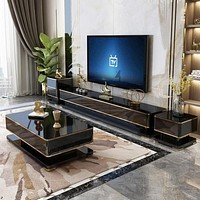 Stylish Modern TV Stand Coffee Table Night Stand
