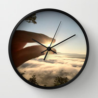 A Pinch of Sunshine Wall Clock by Intrinsic Journeys
