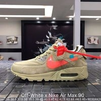 Off White x Nike Air Max 90 OW AA7293-100