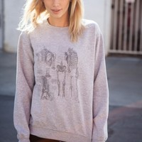 ERICA HUMAN SKELETON SWEATER