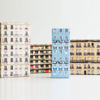 Skyline Wrapping Paper - I Dream of Stationery