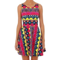 MINK PINK smack the pinata dress