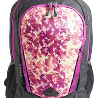 The North Face Girl's 'Vault' Backpack - Red