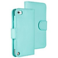 HHI TuchiWallet5 Flip Wallet Case for iPod Touch 5th Generation - Light Blue