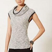 Boucle Cowlneck by Anthropologie Grey Xs Apparel