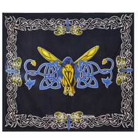 Colorful Butterfly Girl Tapestry Wall Hanging Bedroom Bedspread Bedding on RoyalFurnish.com