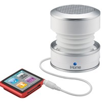 iHome iHM61 3.5mm Aux Color Changing Portable Mono Speaker:Amazon:MP3 Players & Accessories
