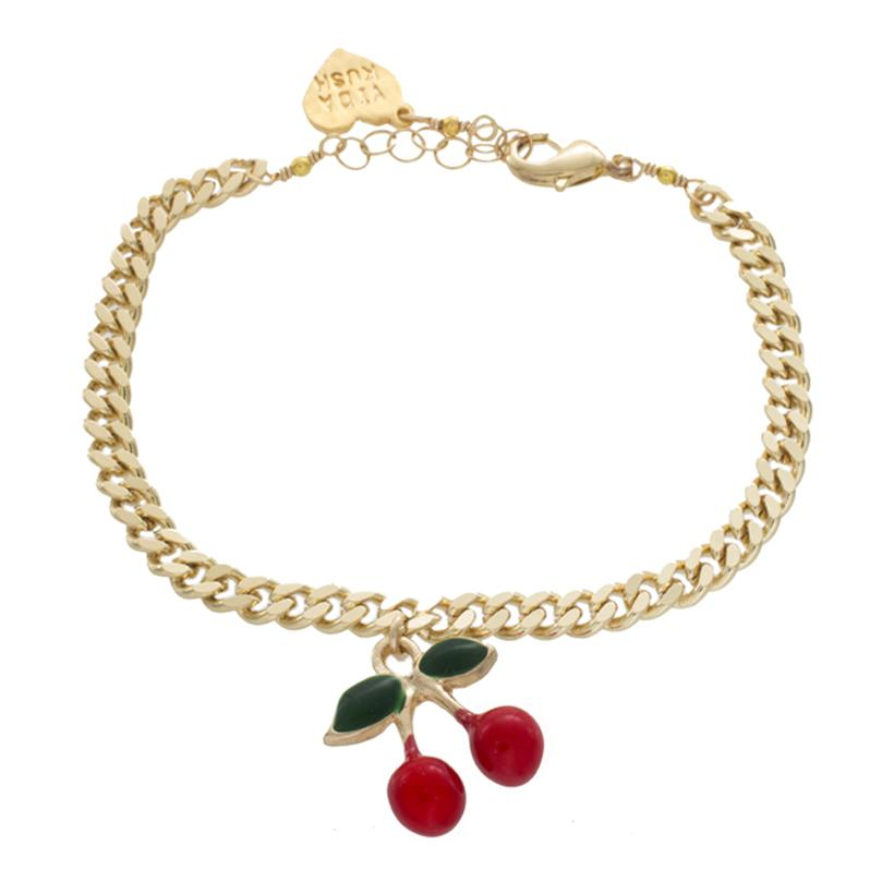 Image of Cherry Charm Anklet