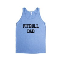 Pitbull Dad Puppy Doggies Doggie Dogs Pup Puppies Pet Pets Mutt Mutts Animals Animal Lover Rescue SGAL2 Men's Tank