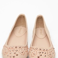 Bamboo Studded Rhinestone Nude Faux Suede Flats @ Cicihot Flats Shoes online store:Women's Casual Flats,Sexy Flats,Black Flats,White Flats,Women's Casual Shoes,Summer Shoes,Discount Flats,Cheap Flats,Spring Shoes,Cute Flats Shoes,Women's Flats Shoes