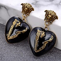 Versace 2020 new beauty head love wild earrings earrings earrings