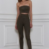 Rhythm and Suede Tube Top