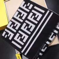 Free Shipping-Fendi new ladies big LOGO wool scarf bib