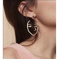 Face Time Drop Earring