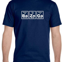 Bazinga Periodic Table Men's T-Shirt, The Big Bang Theory Sheldon Cooper