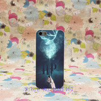 159U- Harry Potter Movie Poster Magic Wand Unique Hard Clear Back Cover Transparent Case for iPhone 5 5s 5g Style
