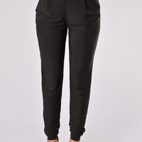 At My Best Pants - Black