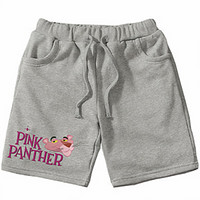 Pink Panther 2018 summer new casual five-pants sports pants F0702-1 grey
