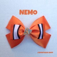 nemo hair bow