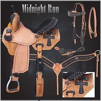 Silver Royal Midnight Run Barrel Saddle| The Saddle Company