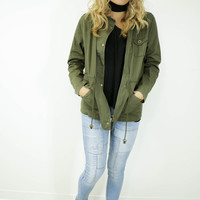 Grand Rapids Olive Army Jacket