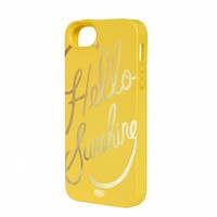 Hello Sunshine iPhone 5/5s Inlay Case by RIFLE PAPER Co. | Imported
