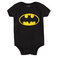 DC Comics Batman Logo Baby Bodysuit