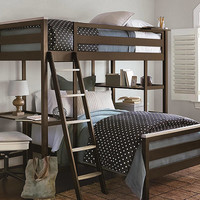 Juneau Twin Size Metal Loft Bed