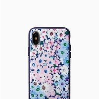 jeweled daisy garden iphone x case