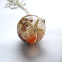 The Mermaid's Necklace  Nautical Jewelry by NaturalPrettyThings