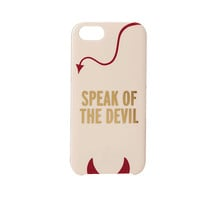 Kate Spade New York Speak Of The Devil Resin Phone Case for the iPhone 5 and 5s