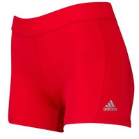 "adidas Techfit 3"" Compression Shorts - Women's at Lady Foot Locker"