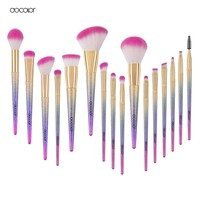 Docolor Makeup Brushes 10pcs/16pcs  make up Fantasy  Set Foundation Powder Eyeshadow Kits contour brush makeup brush set