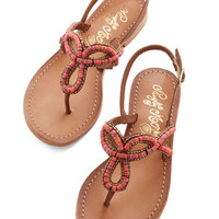 ModCloth Colors of the Water Sandal in Reef