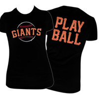 San Francisco Giants Glitter Vinyl T-Shirt