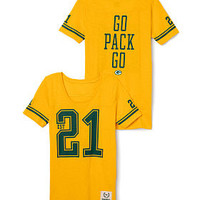 Green Bay Packers Athletic Tee - PINK - Victoria's Secret
