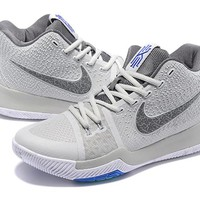 Nike Kyrie Irving 3 Wolf Gray Basketball Shoe