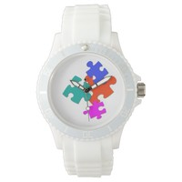 """""""Random Pieces"""" Abstract Watch"""