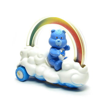 Rainbow Roller Care Bears Vintage Cloud Car Vehicle Toy for 3 Inch Action Figures