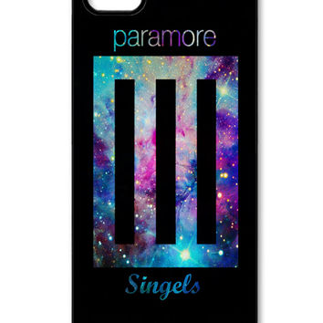 Paramore band album cover on galaxy nebula iPhone 5/5s Case