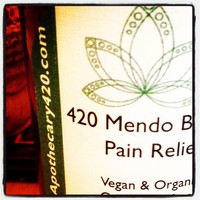 420 Mendo Blendo Hemp Pain Relief Lotion / Calming Lavender
