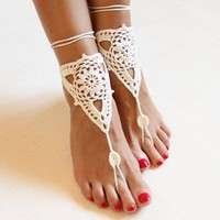 Crochet foot Jewerly   Spoiled Rotton