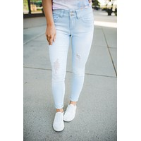 Betty Light Wash Skinny Jeans