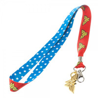 DC Comics Wonder Woman Lanyard with Metal Charm