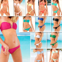Victoria's Secret Like V Neck Sexy Bikini Swim Suit Beach Bathing Suits _ 1339